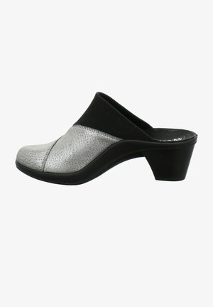 ST.TROPEZ  - Heeled mules - silber