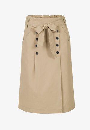 TASHA  - A-line skirt - sand