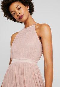 Anaya with love - DELICATE HALTER NECK WAISTBAND DRESS - Ballkjole - pearl blush - 4