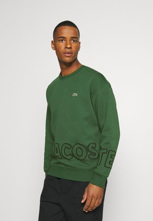 Sweatshirt - green/black