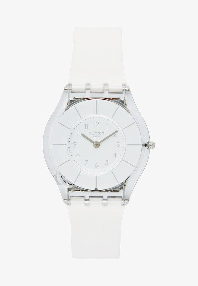 WHITE CLASSINESS - Horloge - white
