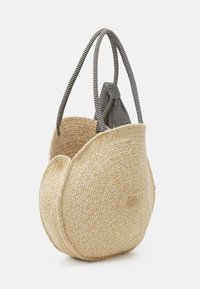 Pieces - PCTASSY BAG - Tote bag - nature - 1