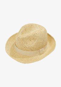 Esprit - MIT RIPSBAND - Hat - beige - 1
