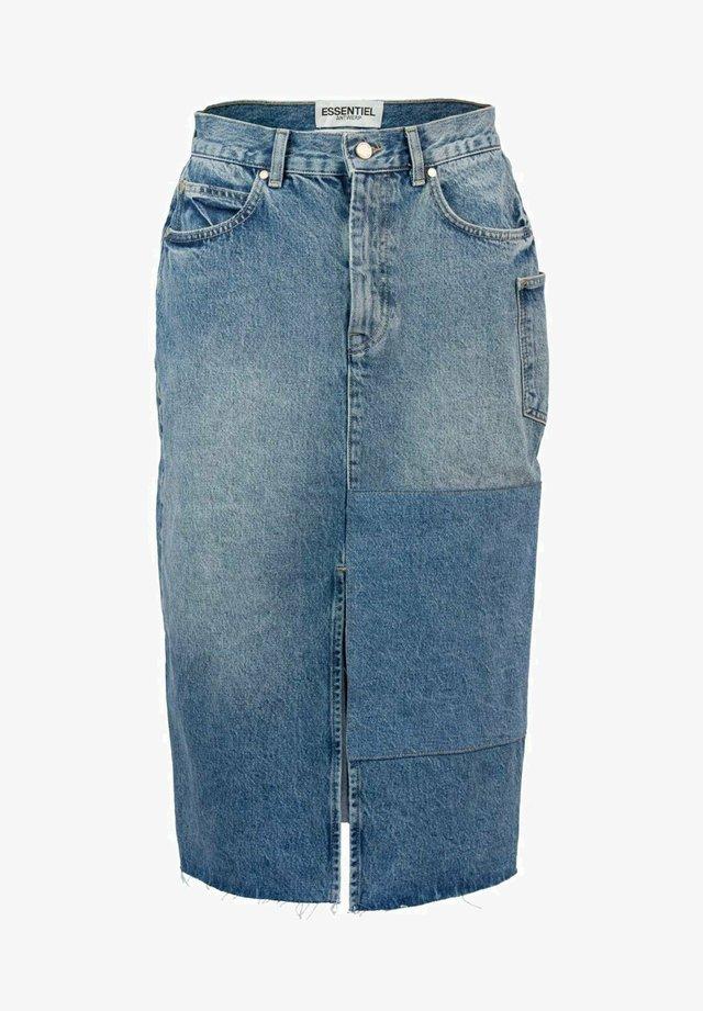 ZIMPALA  - Denim skirt - denim blue