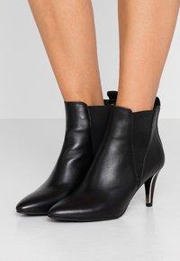 DKNY - ALANI SLIP ON  - Ankle Boot - black - 0