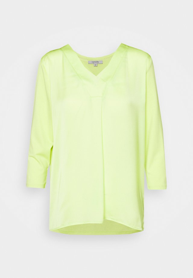 Long sleeved top - lime