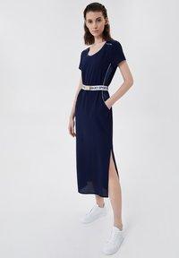 LIU JO - Jersey dress - blue - 0