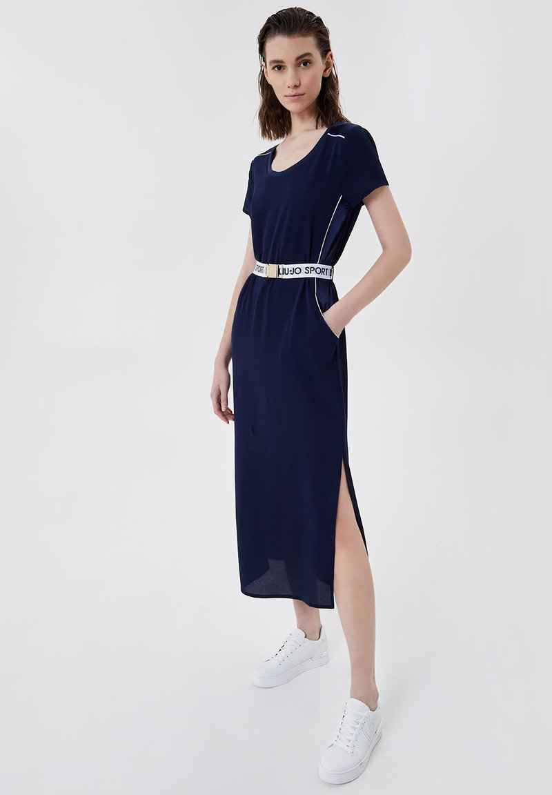 LIU JO - Jersey dress - blue
