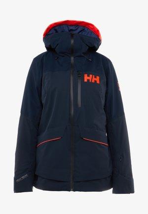 POWCHASER LIFALOFT JACKET - Snowboard jacket - navy
