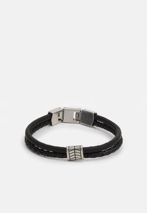 VINTAGE CASUAL - Bracelet - black/silver