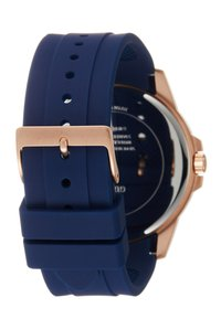 Guess - MENS DRESS MULTIFUNCTION  - Chronograph watch - blue/rose gold - 1