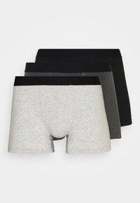 Burton Menswear London - CORE TRUNK 3 PACK - Pants - grey - 4