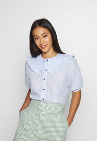 Moves - SSUES - Blouse - blue - 0