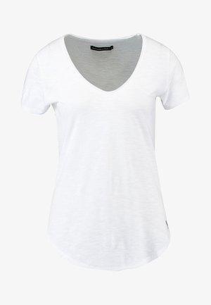 SLEEVE ICON TEE - T-shirts - white