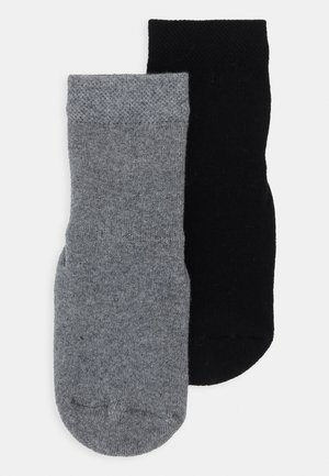 PLAYSOCKS MINI KIDS 2 PACK - Strømper - black/grey