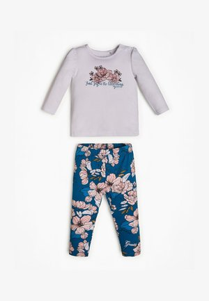 Leggings - Trousers - mehrfarbig, grundton blau
