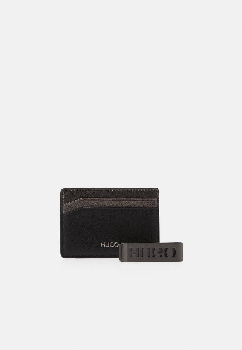 HUGO - CARD CLIP SET - Business card holder - black