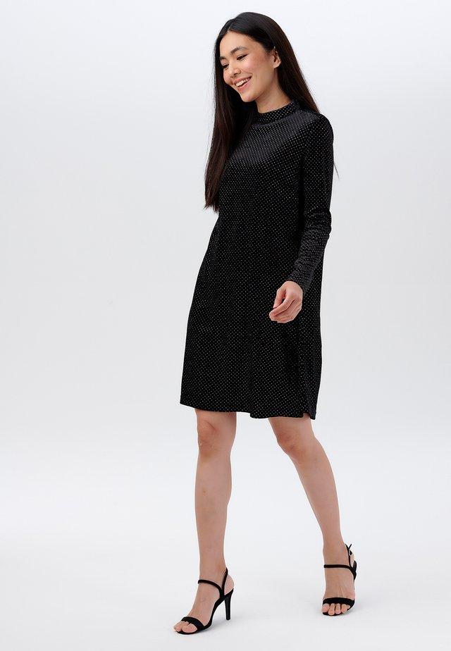 ROKSANA SPARKLE - Korte jurk - black