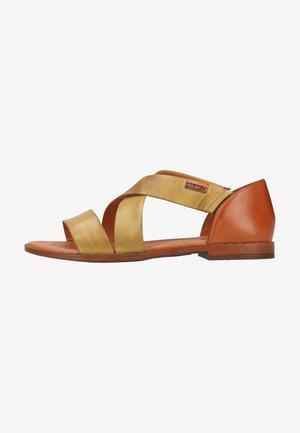 Sandals - citron