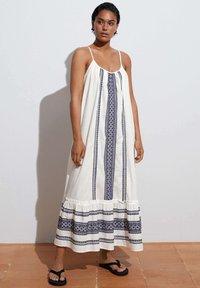 OYSHO - STRAPPY  - Day dress - white - 0