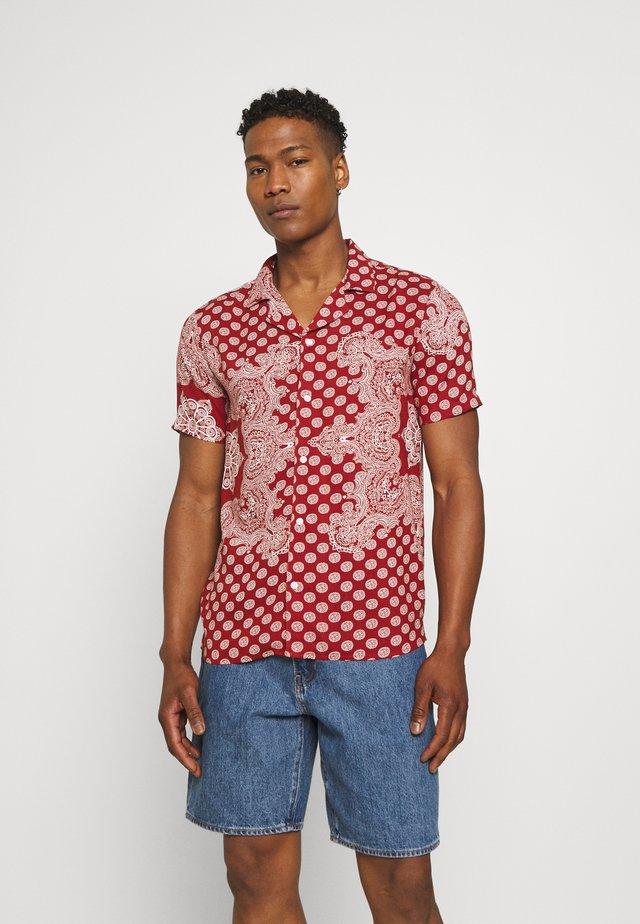 REVERE PRINT - Skjorta - red