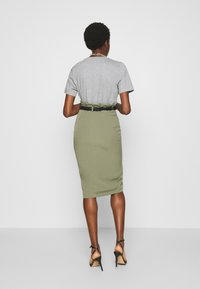 4th & Reckless - LORENA SKIRT - Pencil skirt - khaki - 2