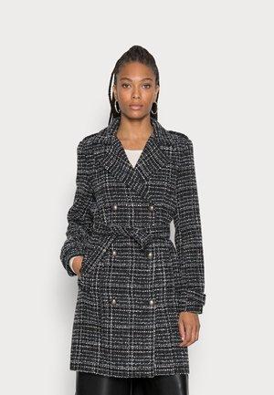 ACARLA - Classic coat - noir/blanc