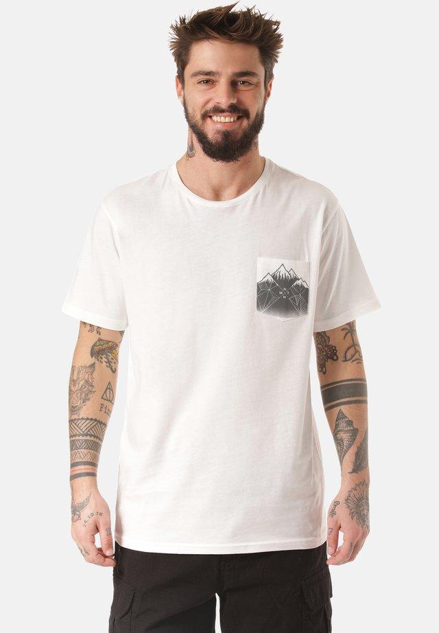 T-SHIRT DEBO - Print T-shirt - white