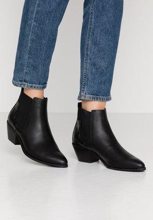 ONLTOBIO - Classic ankle boots - black