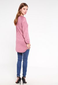 ONLY - ONLMILA LACY LONG - Jumper - mesa rose - 2