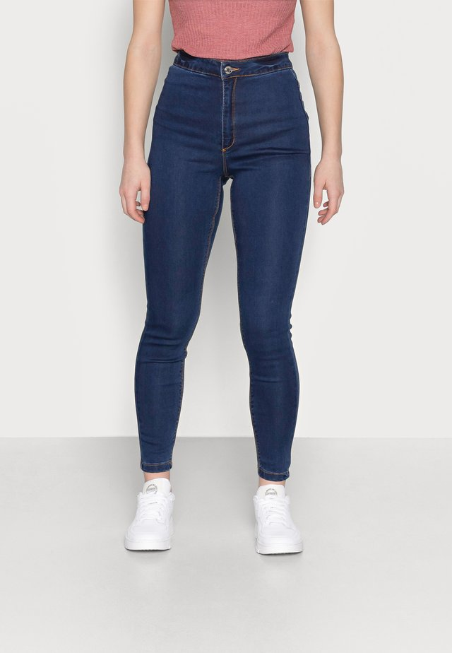 VICE HIGHWAISTED - Jeans Skinny - indigo