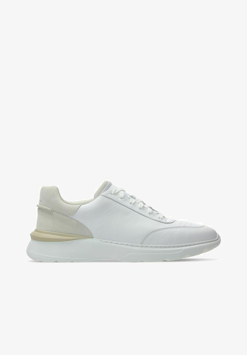 Clarks - Sneakers laag - white  leather
