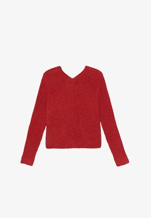 BACK DETAIL MATCH - Jersey de punto - red