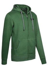 Spitzbub - NORMAN - Zip-up sweatshirt - green - 2