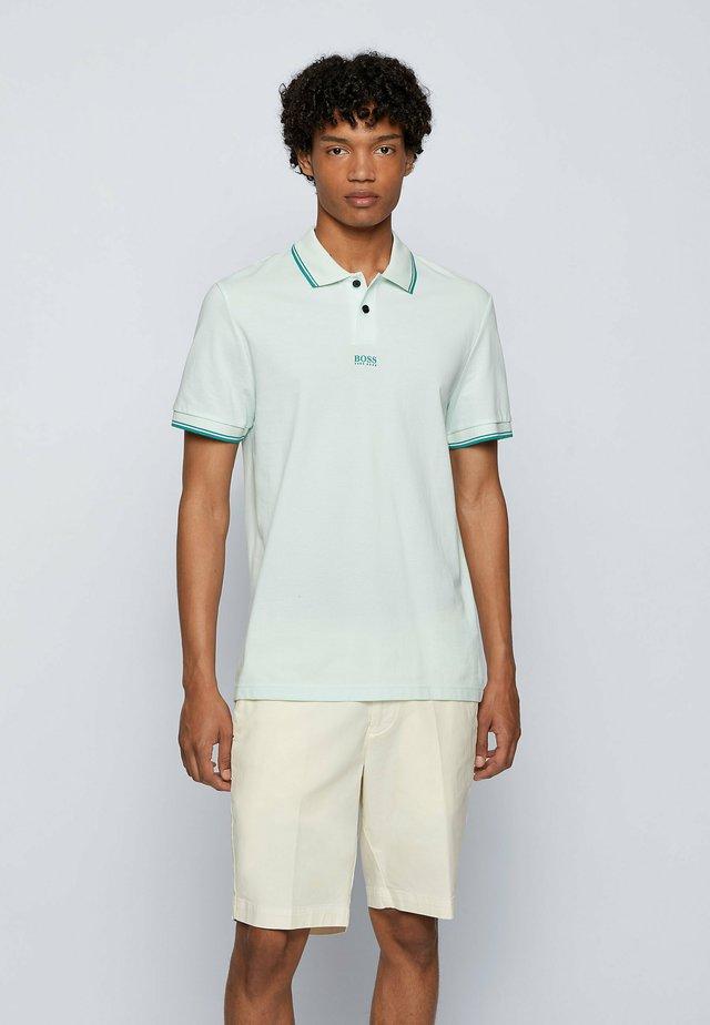 Polo shirt - open green
