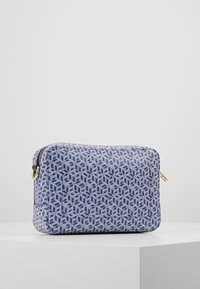 Tommy Hilfiger - ICONIC CAMERA BAG MONOGRAM - Across body bag - blue - 2