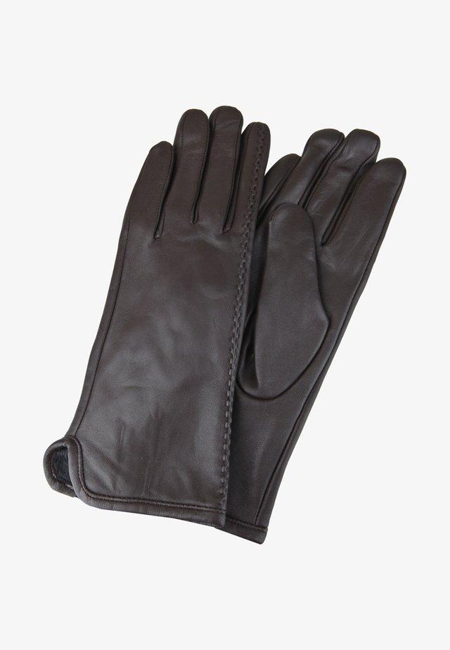 GLOVES - Gloves - espresso