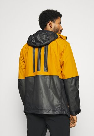 ZUPAHIKE - Chaqueta Hard shell - legend gold/black