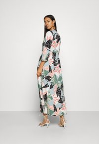 YAS - YASIVY 3/4 ANKLE DRESS - Skjortekjole - gray mist/ivy - 2