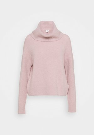 TURTLENECK JUMPER - Jumper - pink dusty
