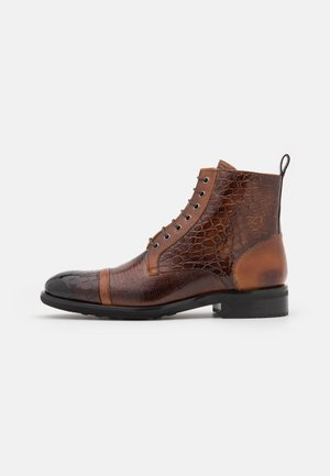 PATRICK 28 - Lace-up ankle boots - mid brown