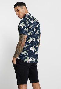 Jack & Jones - JJEJACK SLIM FIT - Skjorta - total eclipse - 2