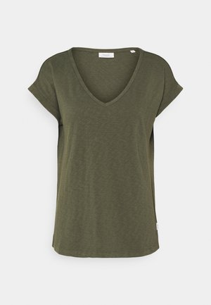 SHORT SLEEVE WIDE BODYSHAPE - Basic T-shirt - deep depth
