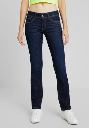 HOLLY - Straight leg jeans - rinsed