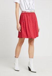 Ragwear - MARE - Áčková sukně - chili red - 0