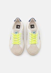 Veja - SMALL ESPLAR LACE UNISEX - Sneakers laag - extra white/grey/jaune/fluo - 3