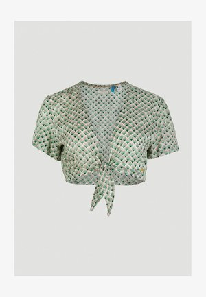 Blouse - green with