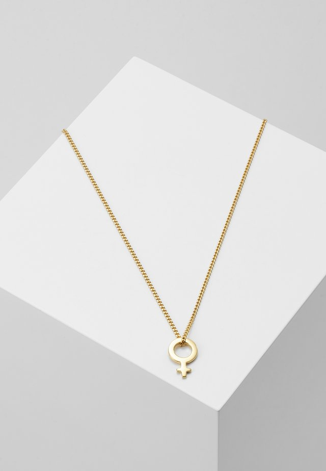 I`M EVERYWOMAN NECKLACE - Collana - gold-coloured