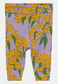 Mini Rodini - ALPINE FLOWERS  - Legging - purple - 0
