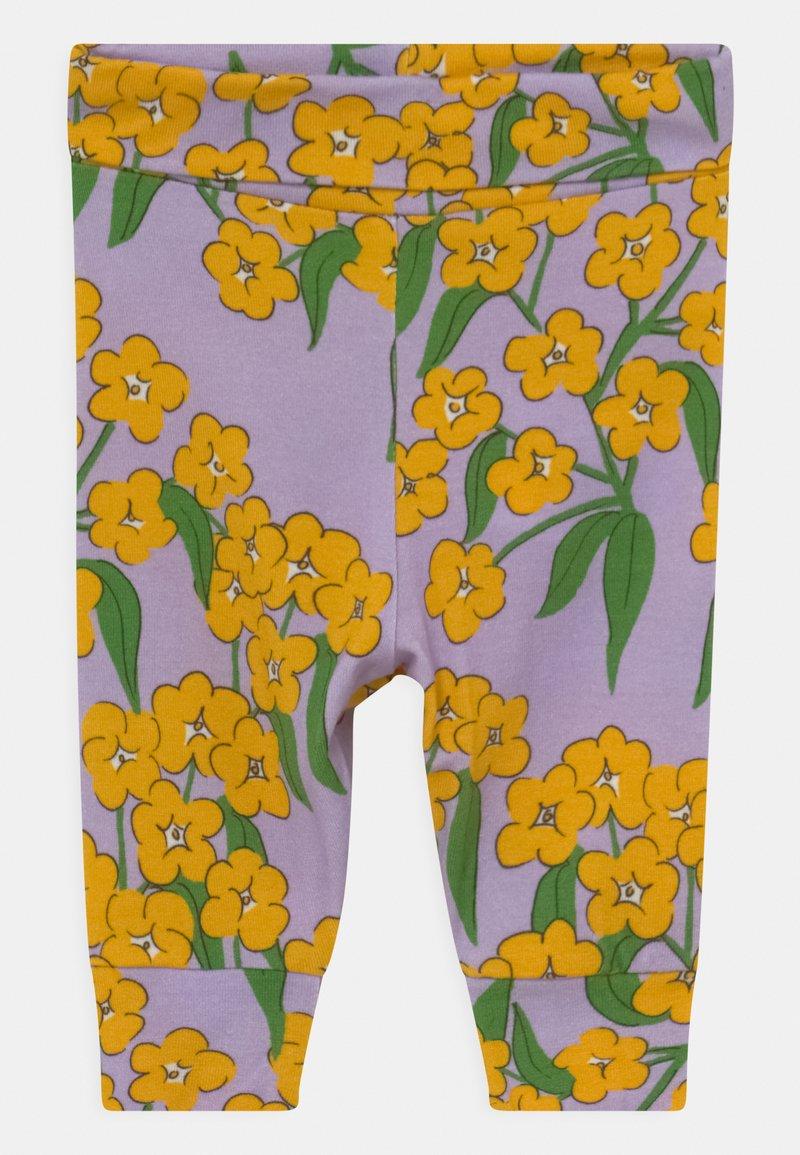 Mini Rodini - ALPINE FLOWERS  - Legging - purple